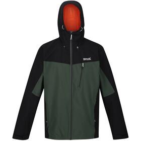Regatta Birchdale Waterproof Shell Jacket Men deep forest/black